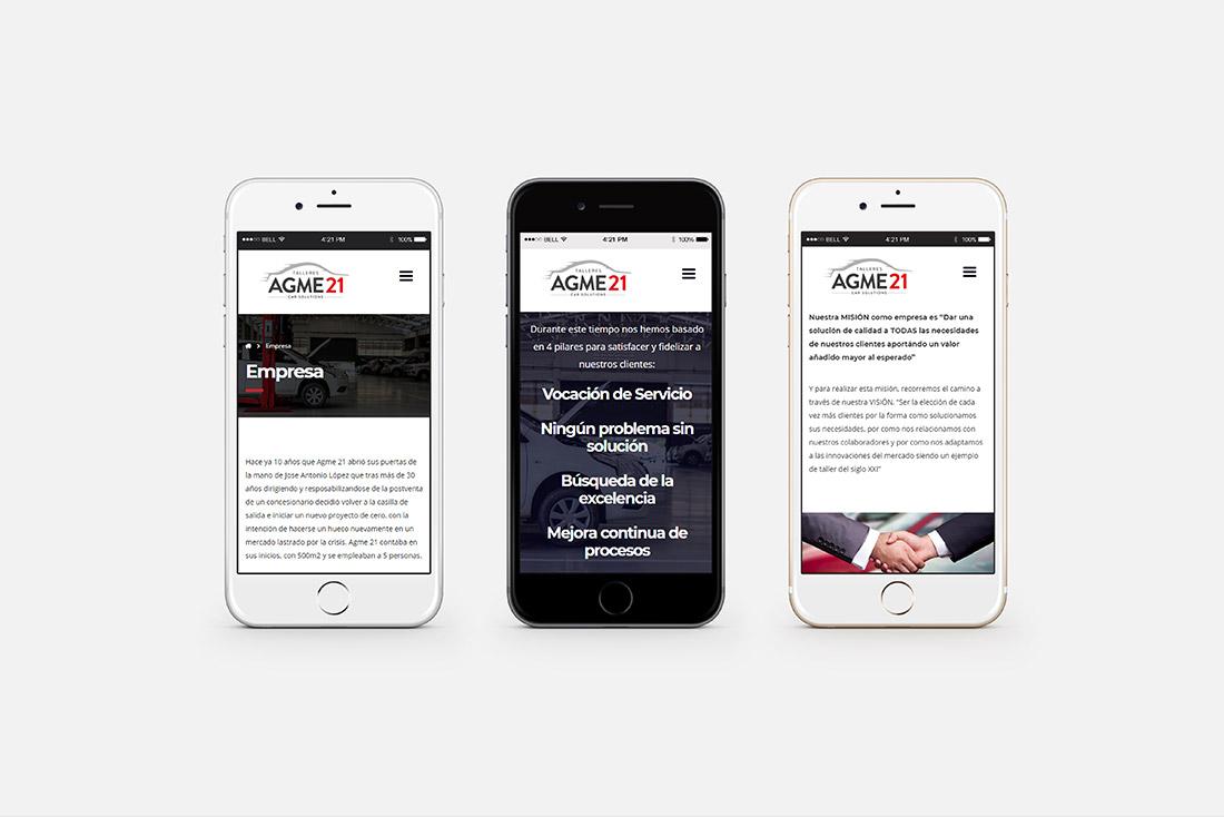 3 diseno grafico desarrollo web agme21 empresa