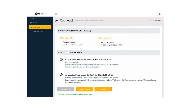 4 h diseno ux dessarrollo webapp confirmacion chemipol