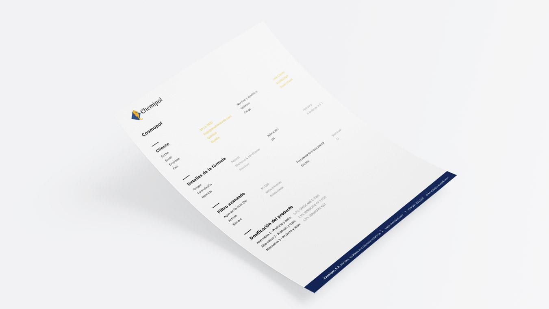 5 v diseno grafico dessarrollo webapp documento chemipol