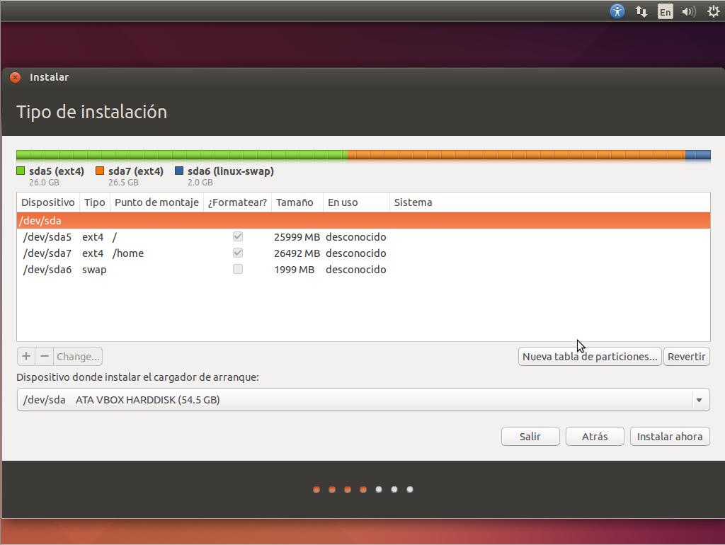 Instala Ubuntu
