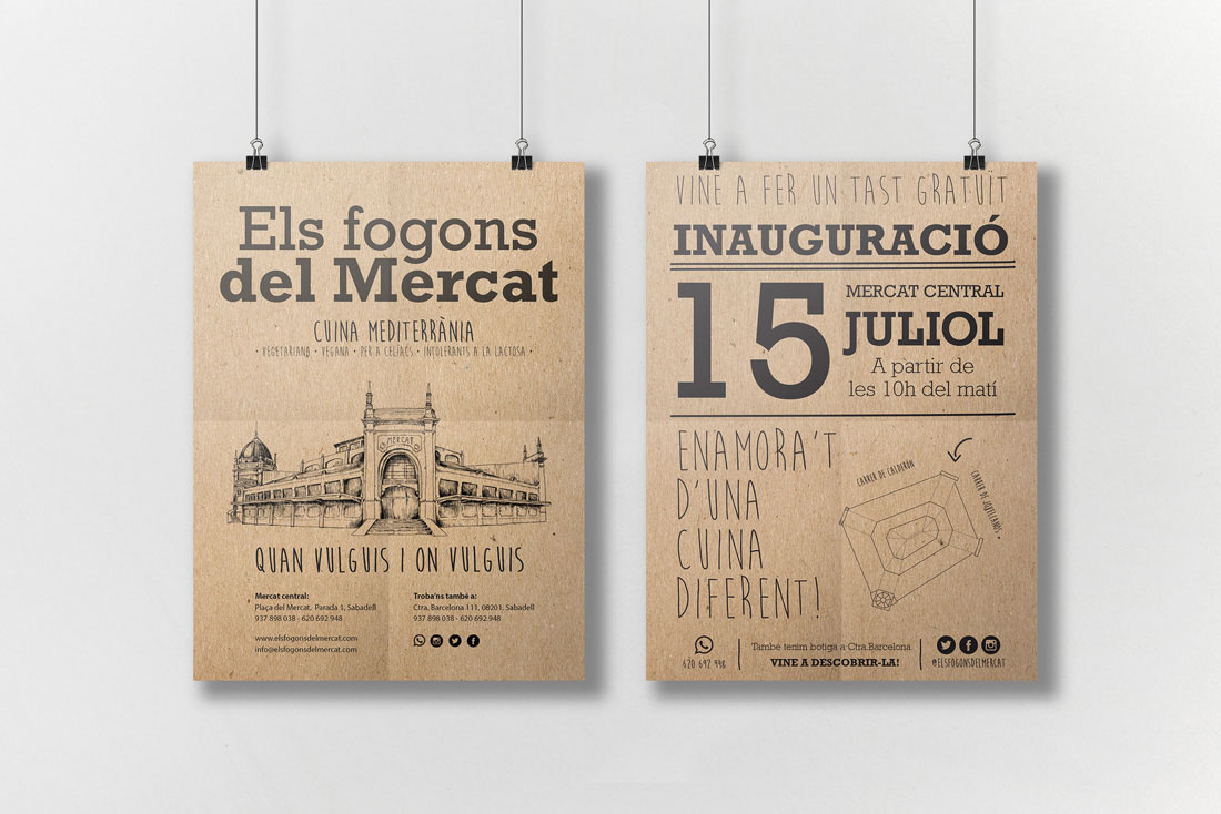 diseno-grafico-branding-identidad-corporativa-inauguracion-cartel-flyer-fogons-mercat1