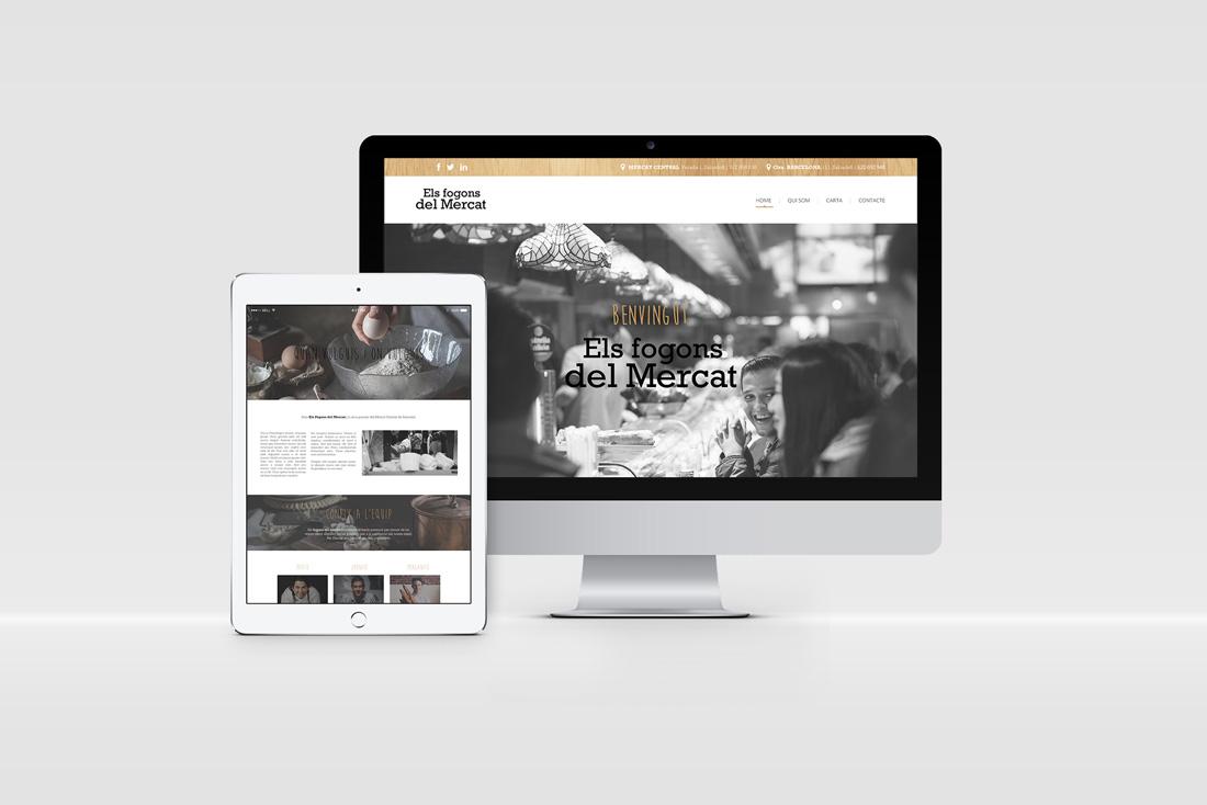 diseno-grafico-branding-identidad-corporativa-web-responsive-imac-ipad-fogons-mercat